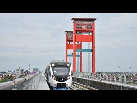 Serunya Naik LRT Sumsel Meluncur dari Jakabaring hingga Bandara SMB II Palembang