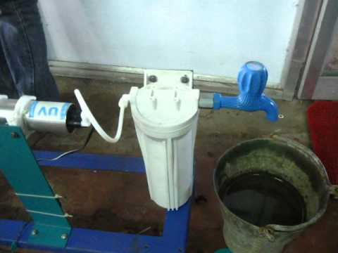 MECHANICAL ENGINEERING PROJECT UV WATER PURIFICATION SYSTEM