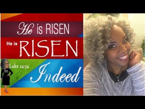📚📝✏️ Sunday School Lesson Highlight: He Has Risen   April 1, 2018