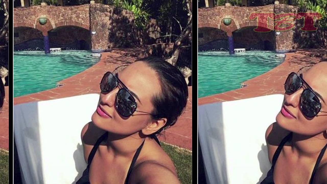 Sonakshi sinha hot in bikini
