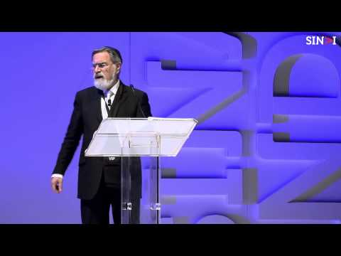 Rabbi Lord Jonathan Sacks: To heal a fractured world