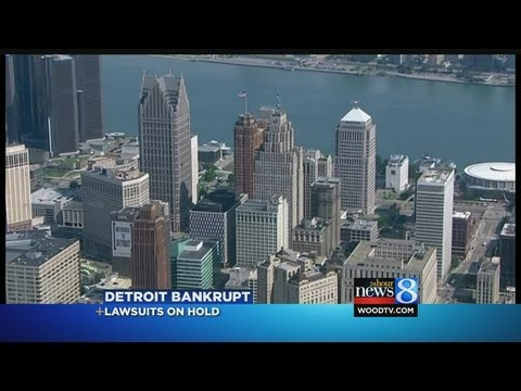 Detroit bankrupt: The effect on Michigan