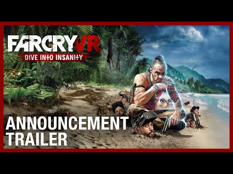 Far Cry VR : Dive Into Insanity Reveal Trailer  | Ubisoft Forward 2020 | Ubisoft [NA]