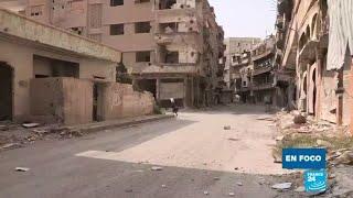 La difícil labor de la reconstrucción de Siria