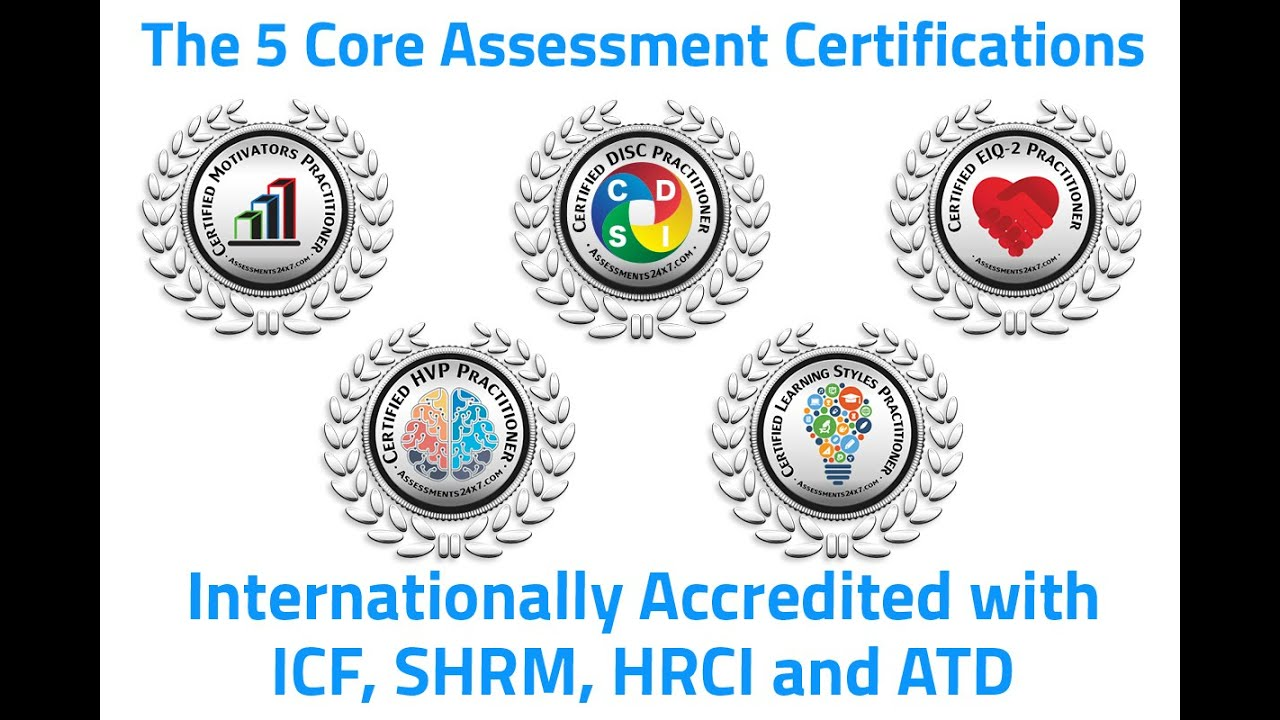 Certifications and Training | Assessments 24x7