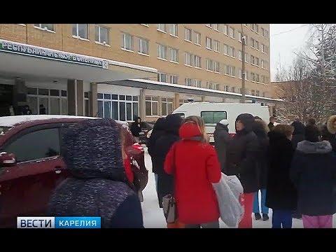 Эвакуации в Петрозаводске