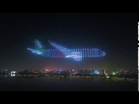 Mark Simone - Watch the Most Amazing Air Show Put On By Drones