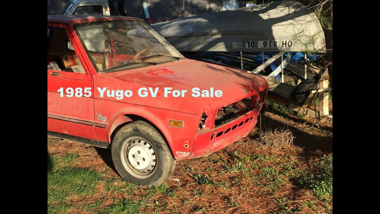 1985 Yugo Gv For Sale Craigslist Youtube