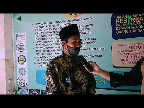 Kompetisi Sains Madrasah Lombok Timur Hari I