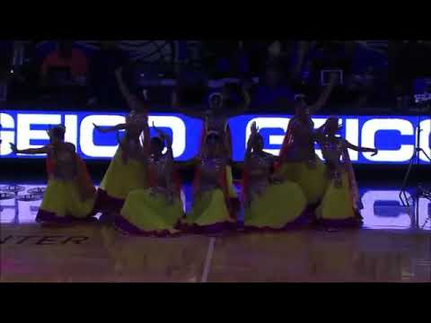 BAHUBALI DANCE PERFORMANCE DURING NBA BASKETBALL GAME | NBA BASKETBALL GAME | BAHUBALI SONG