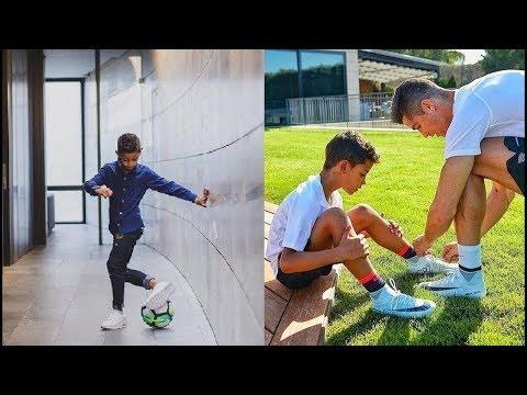 Cristiano Ronaldo Filho!! Futuro Melhor Do Mundo??!