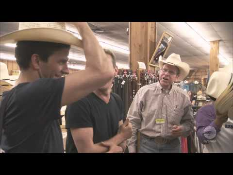 Michael Nunn and Billy Trevitt Shop in Texas- 10 Gallon Brits- A Chance to Dance