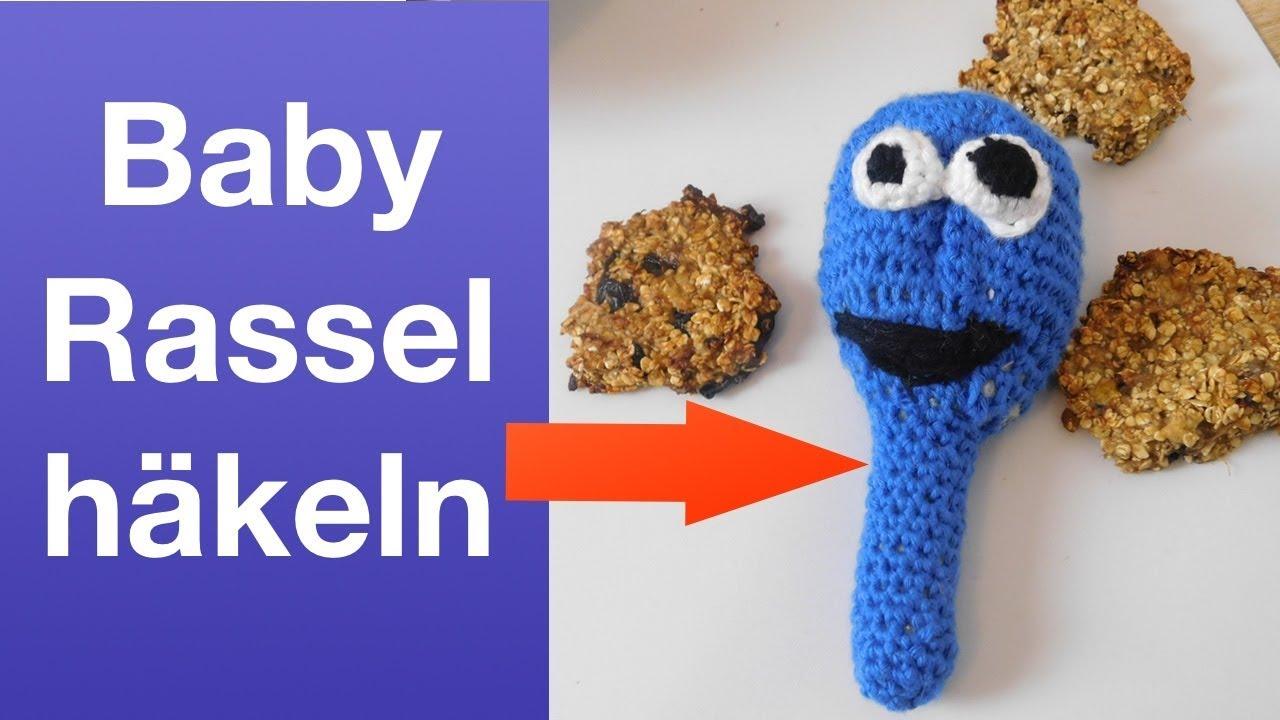 Babyrassel Häkeln Monster Rassel Häkeln Youtube