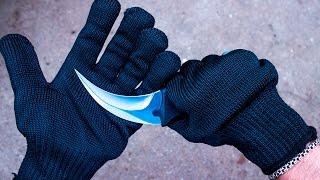Афигеть! Перчатки которые невозможно порезать! Кевларовые перчатки из Китая!