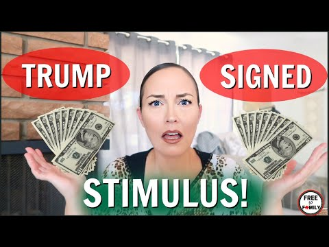 🔴breaking!💰executive-order-signed-today!-second-stimulus-update---trump-deal-8/8/20