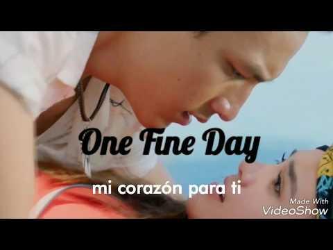 OST One Fine Day  Te Amo Mi Amor + Lirik