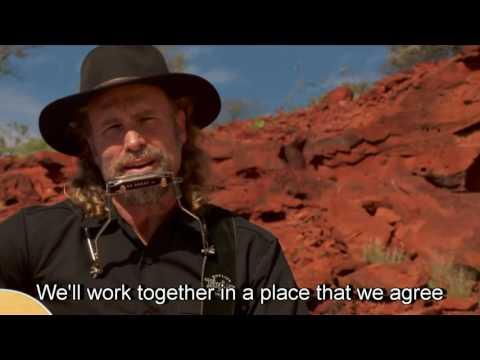 Western Desert Sun - by Steve Grace - with lyrics