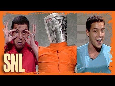 Adam Sandler's Last-Minute Halloween Costume Ideas - SNL