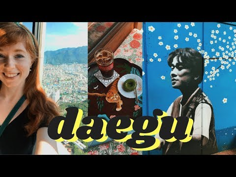 My Weekend Trip to Daegu, Korea from Seoul | VLOG