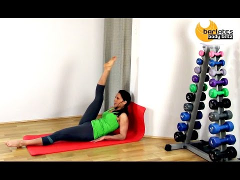 FREE Pilates Fusion Abdominals Core Workout - Abs At The Wall BARLATES BODY BLITZ