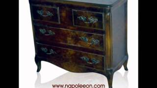 Louisiana French Antique Painted Furniture New Orleans.wmv
