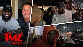 LeBron & Drake Link Up At L.A. Club! | TMZ TV