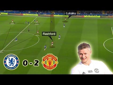 Solskjærs Best Performance as United Boss   Chelsea vs Man United 0-2   Tactical Analysis