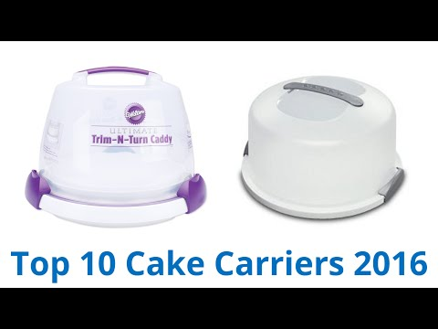10 Best Cake Carriers 2016