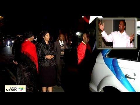 Vuyo Mbuli's funeral service