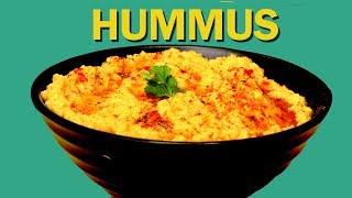 Hummus | Easy Hummus Recipe | हुम्मुस | 5-Minute Hummus Recipe | Food Tak