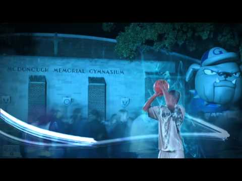 2012-2013 Hoyas Basketball Pre-Game Video
