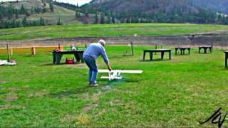 Last Flight of Protege - RC Plane smashed to bits