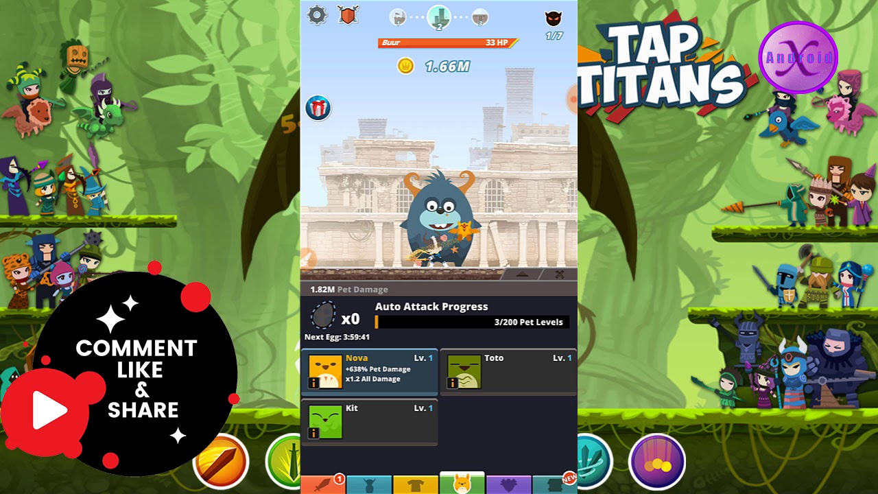 Download Tap Titans 2 (MOD, Unlimited Money) 2 10 1 [Android Xhampion]