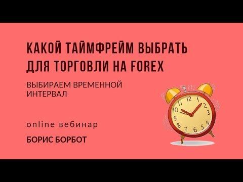 Какой таймфрейм выбрать для торговли на Forex | Борис Борбот