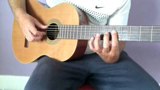 Romanza guitar tutorial part 2