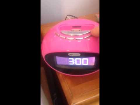 Acoustic solutions smartie clock dock setting the time