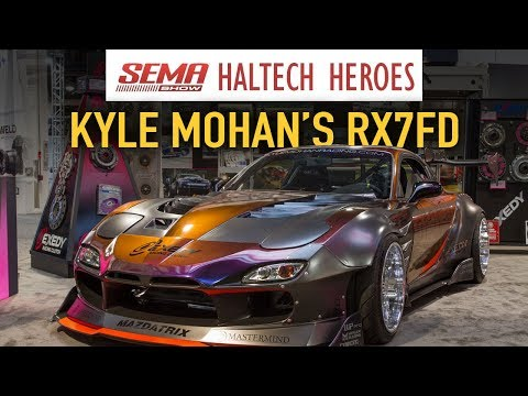 SEMA Special: Kyle Mohan's RX-7FD