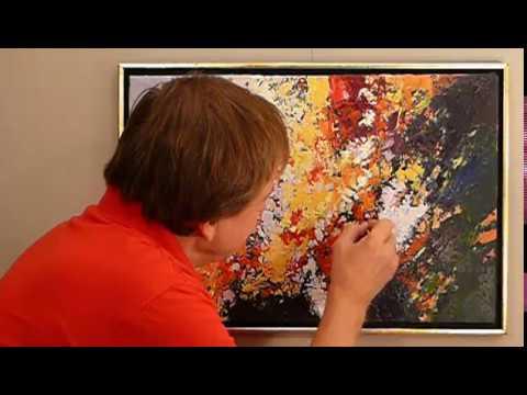 Jak Malować Obrazy Farbami Akrylowymi Kwiaty Abstrakcja Pejzaż