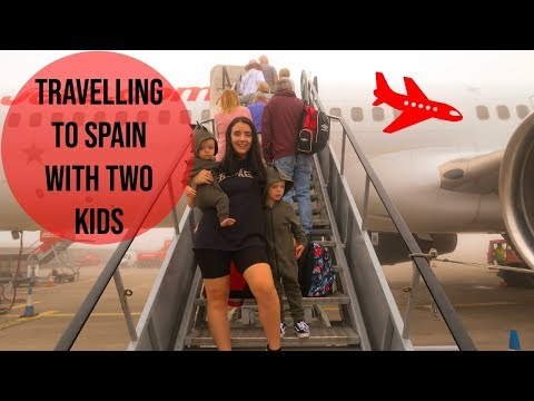 TRAVELLING TO SPAIN WITH TWO KIDS