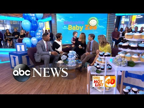 'GMA' Hot List: Surprise guest joins Ginger Zee's maternity leave send-off
