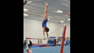 Sydney So - Gymnastics Level 6 Bars Routine - 2nd Provincial Qualifier - Woodbridge - Feb 4, 2017