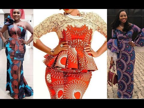 💚💚💚 Latest African Styles for Ladies 2019 : African Clothing Dresses