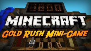 Minecraft Mini-Game: GOLD RUSH! (Using Villagers, TNT, & Gold Ingots!)