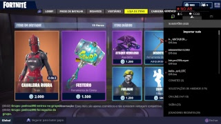 LIVE FORTNITE, THE EASTER SKINS ARRIVED AT THE FORTNITE STORE!!