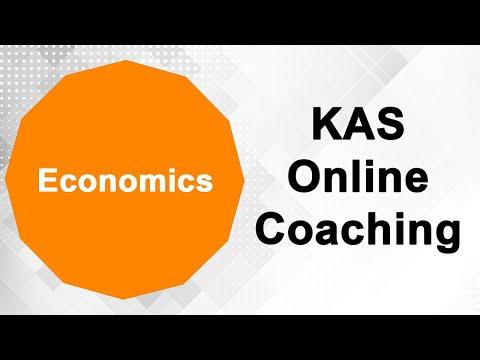 Economics    KAS   Online Recorded Class   Photon Civil Service Academy