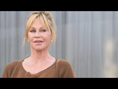 Melanie Griffith Turning Heads In Beverly Hills