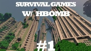 MineCraft Survival Games #1: W/ Poke &CreepinOnChu