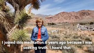 Marilyn from Las Vegas NV Meditation - Meditation Story  #meditation #guidedmeditation