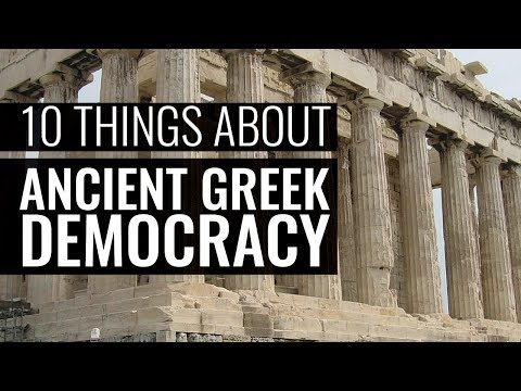 Ten Things You Really Should Know About Ancient Greek Democracy - Professor Paul Cartledge