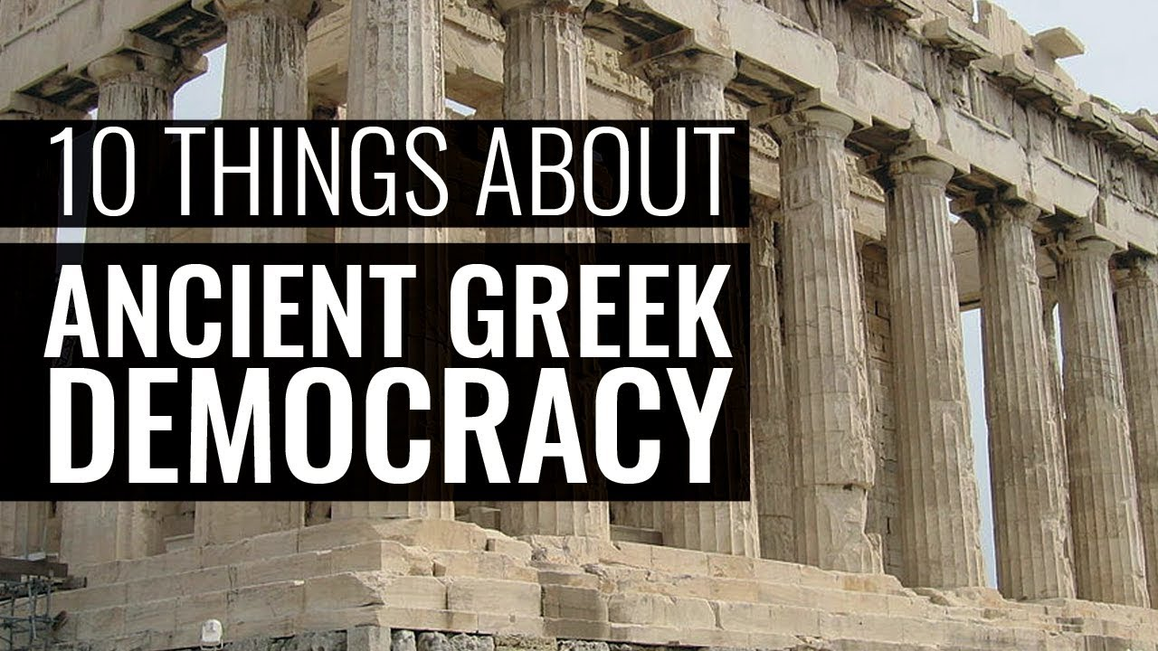 8449b047ff Ten Things You Really Should Know About Ancient Greek Democracy - Professor  Paul Cartledge